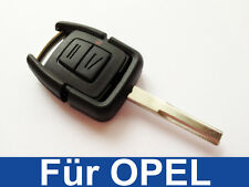 2tasten Key Casing with Blank For Opel Vectra Omega Case