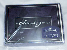 Box Of 10 Hallmark Thank Your Cards With Envelopes - Ivy Floral Lace Design Usa