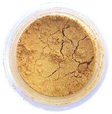 NEW! Creamy Gold Metallic Luster Dust 4g for Cake Decorating, Fondant, Gum Paste