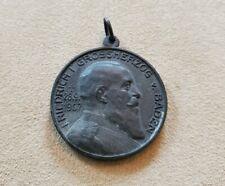 Interesting German Medal 1917 Friedrich Grossherzog Baden 29mm