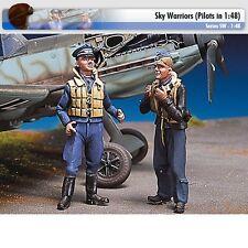 Andrea Miniatures SW09 German Pilots at Rest III 1/48 scale metal model Figures
