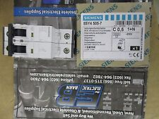 Siemens 5SY4505-7, 5 Amp 2 Pole 230 Volt Din Rail Circuit Breaker- NEW