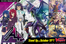 Cardfight Vanguard V Booster Set 02: Strongest! Team 4x COMMON/RARE Eng PLAYSET*