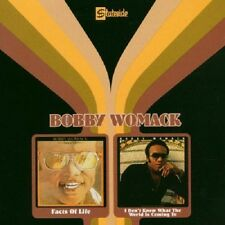Bobby Womack Facts Of Life/I Don't Know What The World Is Coming To 2on1 CD NEW