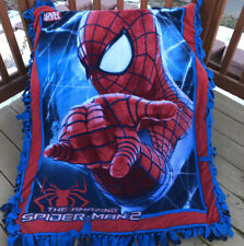 Spiderman fleece double panel blanket