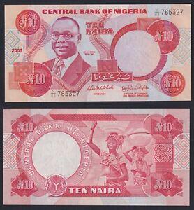 Nigeria 10 naira 2005 FDS-/UNC-  C-05