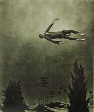 Ghost Over the Trees : Franz Sedlacek : Home Decor Art Print