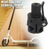 Folding Black Pole Base Safety Replacement for M365 Electric Scooter Accessories