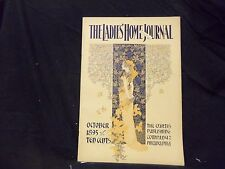 1895 OCTOBER LADIES' HOME JOURNAL MAGAZINE - GREAT ILLUSTRATIONS & ADS - ST 1548