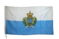 BANDIERA FLAG REPUBBLICA SAN MARINO SANMARINESE ROCCA MONTE TITANO cm90x150