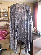 NEW .. AVENUE...  Woman's  Thin Fashion Cardigan  ... Size 18 / 20