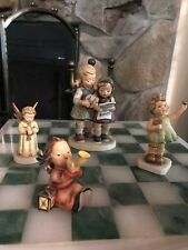 4 Hummel Figurines:Close Harmony, Forever Yours, Tuneful Angel, Festival Angel