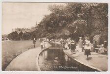 Dorset postcard - Bournemouth, The Gardens (A1074)