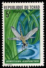 "CHAD 256 (Mi514) - Dragonfly ""Hemistigma albipunctata"" (pf87929)"