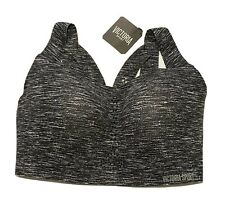 NEW VICTORIA'S SECRET ANGEL MAX Sports Bra 34DDD Gray Marl DISCONTINUED