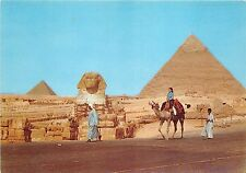 BR3095 Giza - The Great Sphinx and Khefreh pyramid  egypt