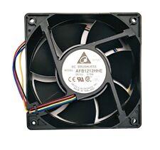 Delta Electronics High Airflow Cooling Fan AFB1212HHE 120x38mm PWM + RPM Sensor