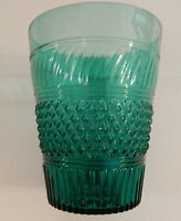 "Metropolitan Museum of Art MMA Rare Green Flip Glass/Vase 6"" Sandwich & Boston"