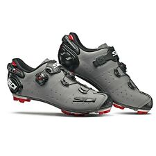 SIDI Drako 2 SRS MTB Cycling Shoes Bike Shoes Matt Grey/Black Size 40-46 EUR