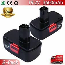 2Pack 19.2V Battery Replace For Craftsman 19.2 Volt C3 11376 11375 130279005 New