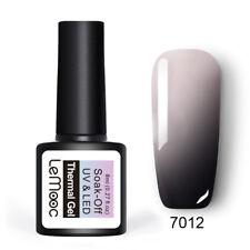 8ml LEMOOC Nail UV Gel Polish Thermal Color Changing Soak off Nail Art UV Gel