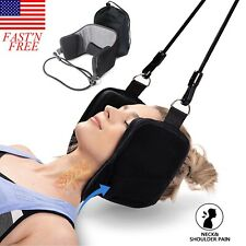 Head Hammock Relief Neck Pain Shoulder Muscle Stretch Cervical Traction Pillow