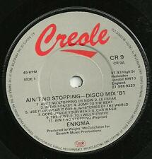 ENIGMA - AIN'T NO STOPPING - DISCO MIX '81 - 80s SAMPLED SOUL/FUNK 70s/80s DISCO