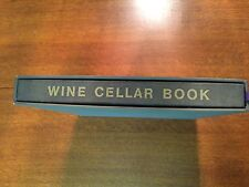 Elegant Wine Cellar Book/Journal To Record Your Bottles and Tasting Comments