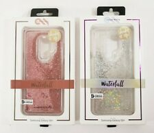2 Case-Mate Waterfall Galaxy S9 Plus Phone Case Pink & Silver Iridescent