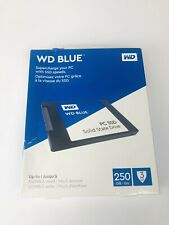 """WD Blue 250GB 2.5"""" SSD Solid State Drive (Retail Boxed) For PC -- Brand NEW!"""