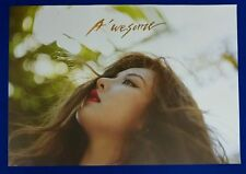 Hyuna (4Minute) - A'wesome  Unfolded Poster *HARD TUBE CASE*