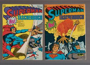 Superman Taschenbuch Ehapa Nr. 1-66 1. Auflage komplett  (0-1/1) wenige (1) TOP