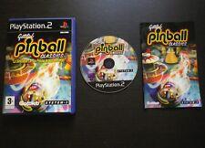 GOTTLIEB PINBALL CLASSICS : JEU Sony PLAYSTATION 2 PS2 (System 3 COMPLET suivi)