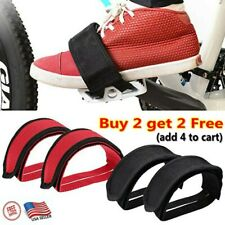 USA Anti-Slip Cycling Bike Foot Band Pedal Straps Toe Clips Pedal Belts Durable