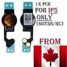 Home button iphone 5 (not5c/5s) flex cable Ribbon Replacement Repair inner part