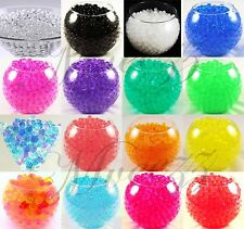 750 WATER BEADS CRYSTAL BIO SOIL GEL BALL WEDDING VASE FILLER PARTY DECORATION