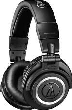 Audio-Technica - ATH M50XBT Wireless Over-the-Ear Headphones - Black