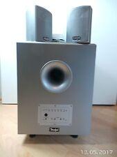 Soundsystem TEUFEL Subwoofer E Magnum 5.1 + 4x CEM-Satelliten und 1x CEM-Center