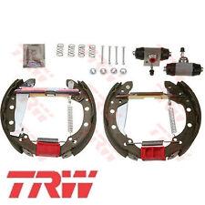 TRW Bremsbackensatz 4 Bremsbacken Trommelbremse Hinten AUDI GSK1512