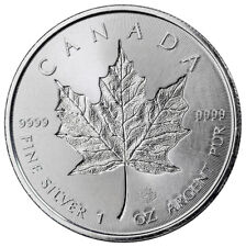 2018 Canada 1 oz Silver Maple Leaf Incuse $5 Coin GEM BU SKU52127
