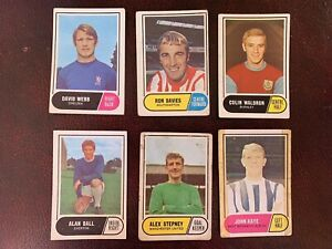 A&bc Greenbacked Bubblegum Football Cards In Mixed Condition