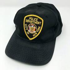 Licenza Ufficiale NYPD Polizia New York Regolabile Berretto Da Baseball Cappello Con Stemma