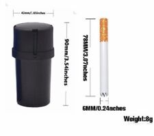Smell Proof Container With Grinder and Horned One Hitter, US SELLER