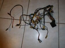1959 cadillac deville series 62 dash radio heater wiring harness plugs - vy  good