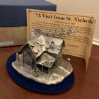 Vintage Limited Edition Fort Pewter A Visit From St Nicholas