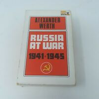 Russia At War 1941-1945 Alexander Werth 1964 Pan Books Paperback with Cover