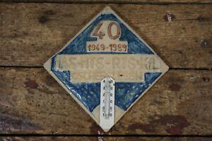 Altes Wandbild Andenken 40 Jahre MAS MTS RTS KfL Oschersleben DDR Retro Vintage