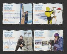 Australian Antarctic Territory 2021 : Arts Fellowship - Stamps - Design set. MNH