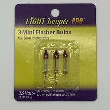 LIGHT KEEPER PRO 3  MINI FLASHER REPLACEMENT BULBS 2.5 VOLT