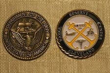 Naval Reserve Center Cleveland Challenge Coin